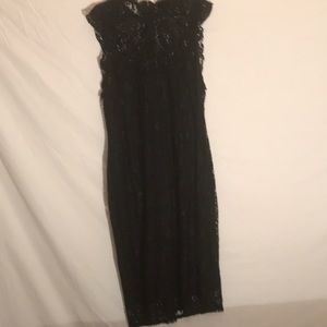NWT Mossimo Black Lace Dress